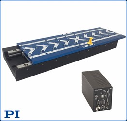 New PI Precision Linear Motor Stage Family With Magnetic Direct Drive And Absolute Encoders With A Variety Of Options