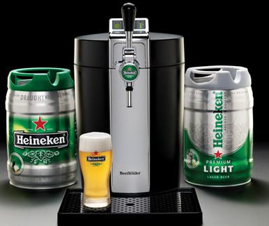 Enjoying Heineken On Draught At Home Could Be Easier Than