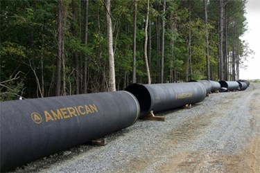 AMERICAN Pipe Used For Loudoun Water's Innovative Potomac Water Supply Program