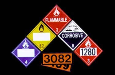 Hazardous Materials Placards & Orange Panels