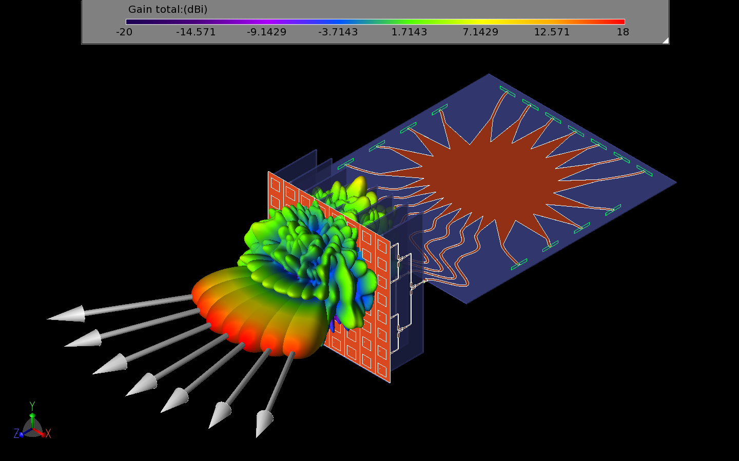 Design And Simulation Of 28 GHz Beamforming System And