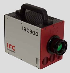SWIR Camera with Broad Spectral Range: IRC912