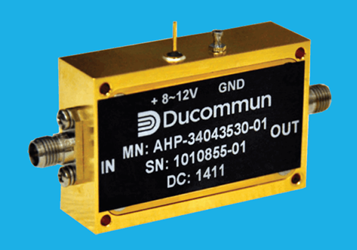 Ducommun GaAs MMIC Power Amplifiers