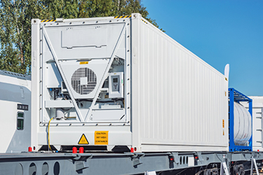 Refrigerated Container cold chain