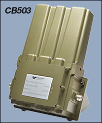 Tuneable High-Q, High Power VHF/UHF Bandpass Filter: CB503
