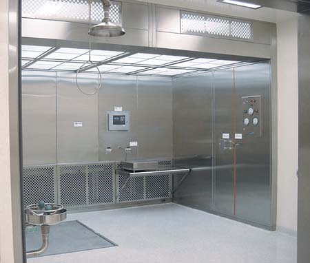 Downflow Containment Booths Howorth Air Technology