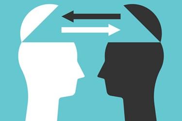 exhange ideas - eye to eye