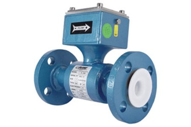 Flow Technology mag meter measures water for continuous mix concrete application