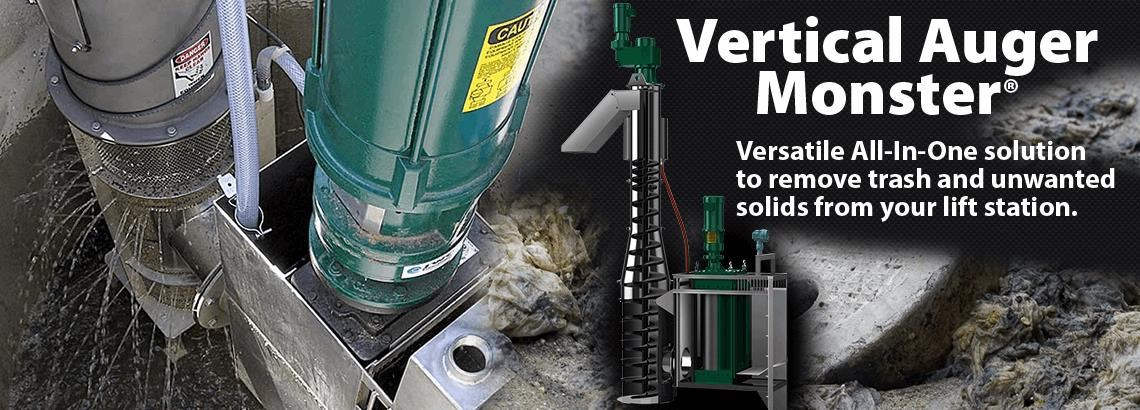 Vertical Auger Monster Model AGV