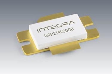 500 W GaN/SiC Long-Pulse L-Band Transistor: IGN1214L500B