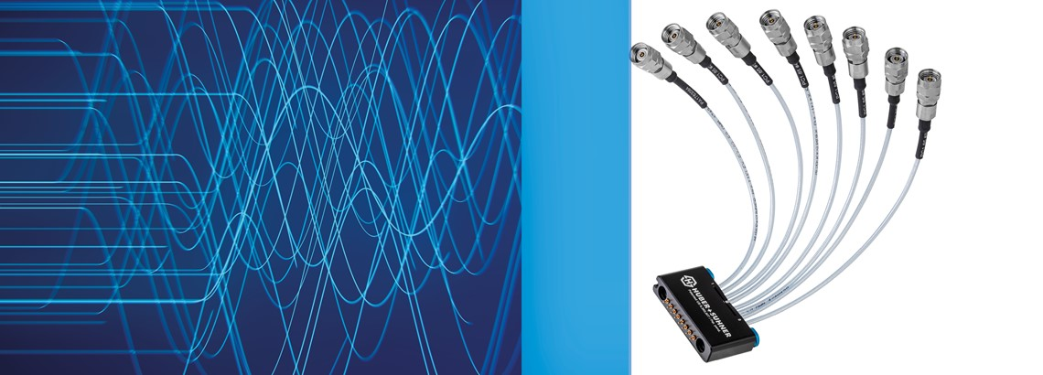 MXPM70 – pioneering multi-coax solution up to 70 GHz