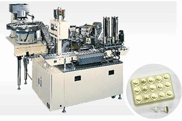 Pharmaceutical Powder filling and Sealing machine for Containers: PFL-200