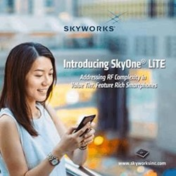 New Highly Integrated Front-End Solution For LTE Mobile Devices: SkyOne® LiTE