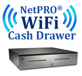 NetPro Wi Fi Cash Drawer