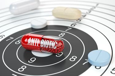 Antibiotics-Target-Bullseye-iStock-932402238