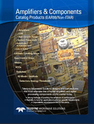 Components For Communications, Aerospace, Defense, Aviation And Instrumentation Markets