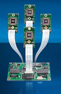 Intelligent Multiple Head Camera Platform Vcsbc Quadro