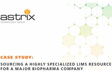Sourcing A Highly Specialized LIMS Resource For A Major Biopharma Company