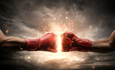 2 Gloves Fist Bump