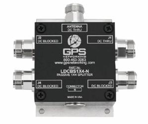Passive 1x4 GPS Splitter: LDCBS1X4