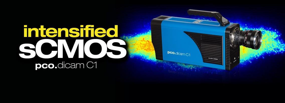 pco.dicam C1: intensified sCMOS camera