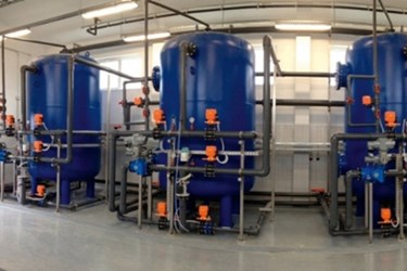 PVC-U Products Of GF Piping Systems Replacing 30 Year Old Carbon Steel Piping On Drinking Water Plant In Croatia