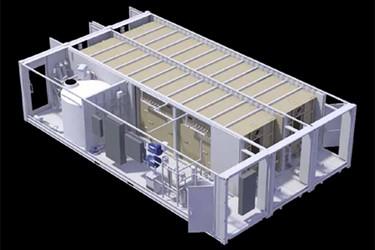 Sewage Treatment Mini Train System WWT-50
