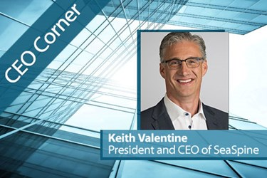 CEO Corner - Keith Valentine, SeaSpine