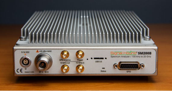 100 kHz 20 GHz Real-Time Spectrum Analyzer And Monitoring