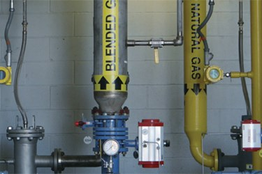 Wastewater Plant Relies On Thermal Flow Meter For Co-Gen Power Gas Blending Process