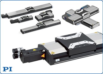 High-Load Linear Stage Family With Ball Screw/Linear Motor Options For Industrial Applications