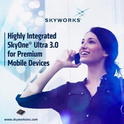 Front-End Solution For Cellular/Smartphone Applications: SkyOne® Ultra 3.0