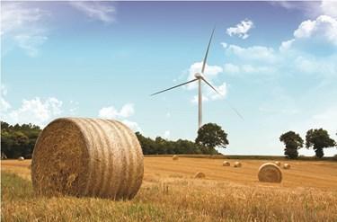 Parc eolien de Landes de Couesmé _ Bretagne éoliennes Alstom ECO110 2