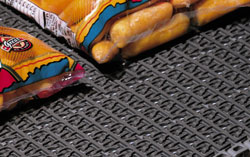 Intralox Series 1100 Flush Grid Friction Top Belt