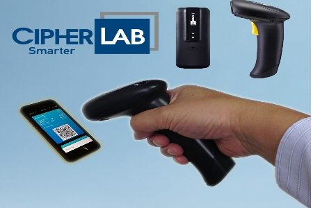 Scan Barcodes On Mobile Phones And Tablets With CipherLabs