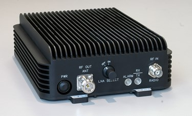 RF Booster Amplifier for Tactical Radio Equipment: AR-55L