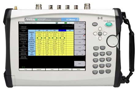 Anritsu Adds LTE-Advanced Carrier Aggregation Test