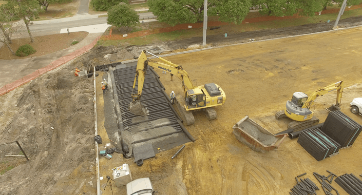 Stormwater Improvements Included In Huge Upgrade At North Carolina University