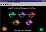 Rapid View Data Management System For Municipal Inspections