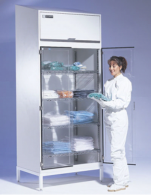 Cleanroom Storage Cabinet 304 Stainless Steel Or Powder