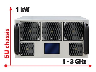 Power Amplifier with Unrivaled Size and Power Advantages: Model 2170
