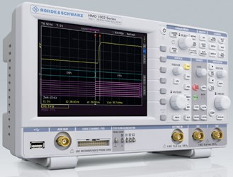 50/70/100 MHz Digital Oscilloscope: R&S®HMO1002