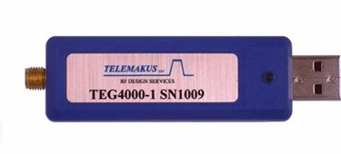 Enhanced Frequency Range, USB-Controlled Signal Generator: TEG4000-1