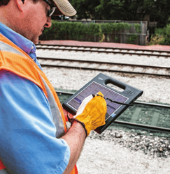 Rugged Mobile Rail Tablets