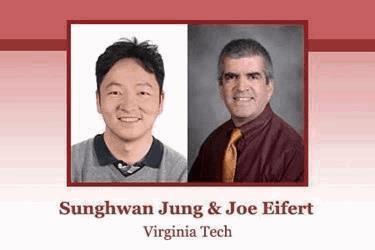 Sunghwan Jung and Joe Eifert, Virginia Tech