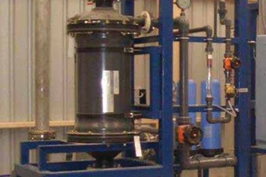 Power Plant Uses Membrane Contactors To Remove CO<sub>2</sub> From Water