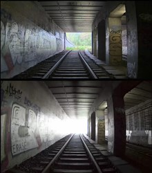 Axis Train Tunnel WDR Camera