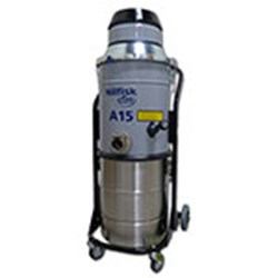 Vacuum for Combustible Dust Removal: A15DX