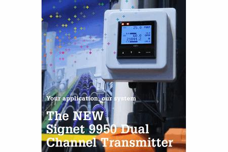 The Signet 9950 Dual Channel Transmitter