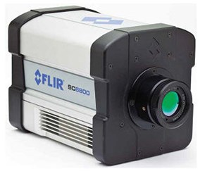 High Speed MWIR Camera: FLIR SC6800
